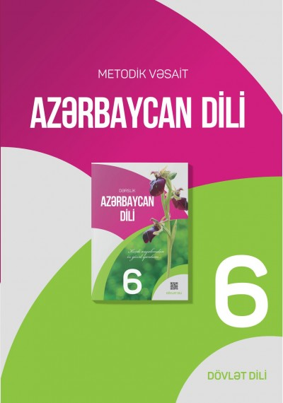 """Dövlət dili """"Azərbaycan dili"""" fənni üzrə 6-cı sinif üçün metodik vəsait"""