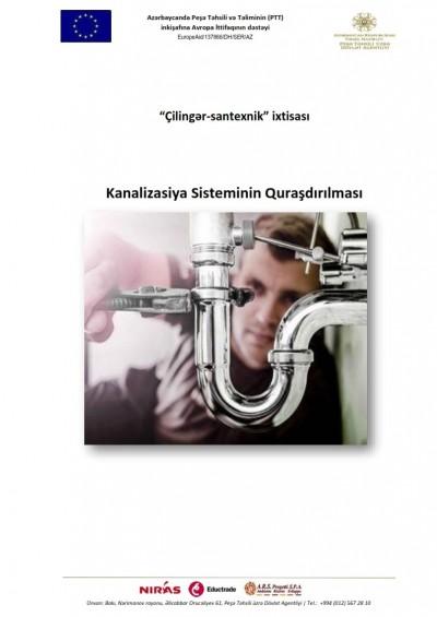 Kanalizasiya sisteminin quraşdırılması